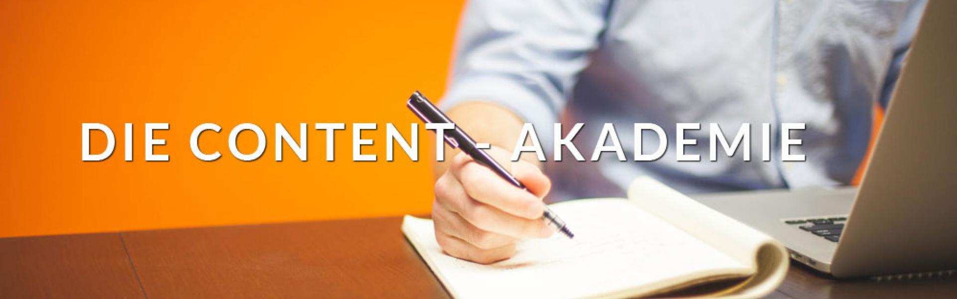 Die Content-Akademie cover