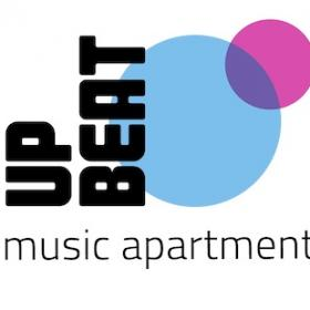 UpBeat music apartment logo