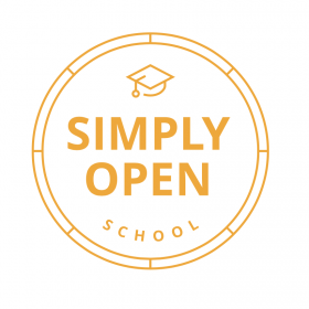 simply open school logo