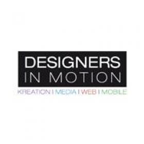 Designers in Motion logo