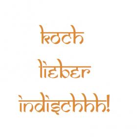 Koch lieber indischhh! logo